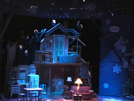 A Christmas Story at The Rep and Dinner at The Frisco Barroom