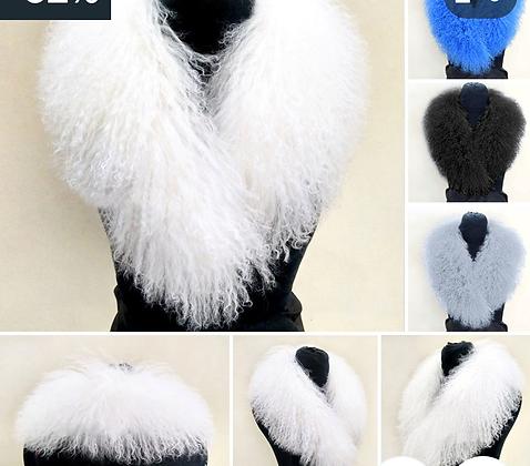 lambs wool collar