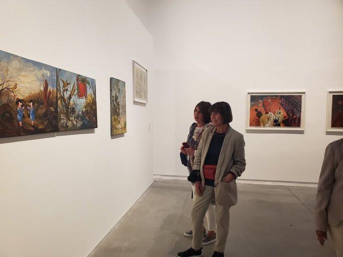 Arte argentino en el Museo de Arte Moderno. Alfredo Londaibere.