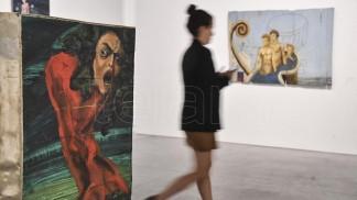 Londaibere en el Museo de Arte Moderno de Buenos Aires.