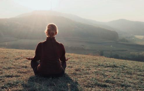 Yoga und Wandern im Kaiserstuhl