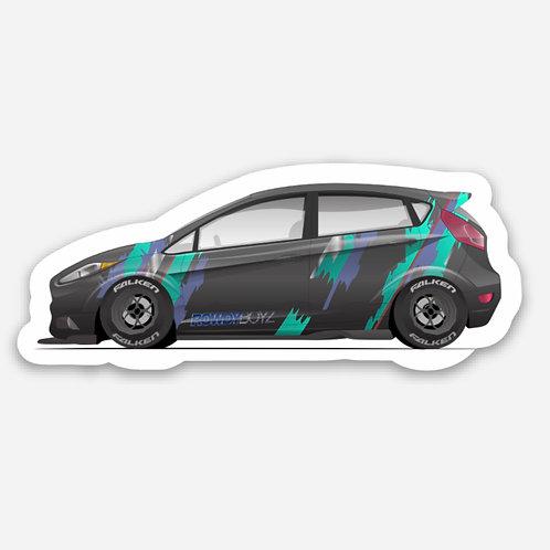 Fiesta ST Mini Stickers