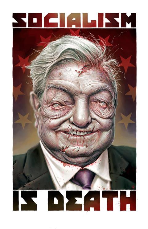 ZOMBIE GEORGE SOROS (Socialism)