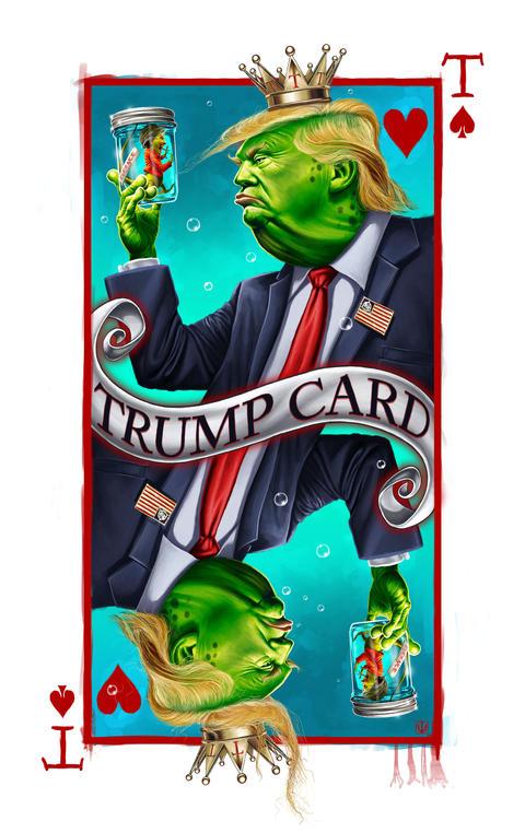 PEPE TRUMP CARD