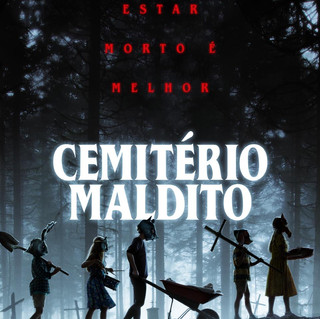 """Cemitério Maldito"" ganha cartaz e trailer"