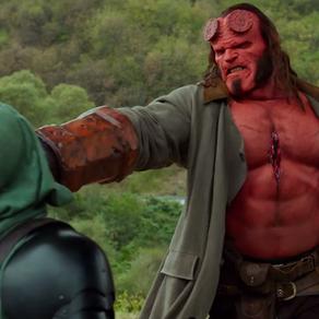 """O novo """"Hellboy"""" está longe de ser um filme ruim, mas infelizmente está longe de ser um bom filme!"""