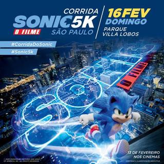 Sonic sai do videogame para se transformar em corrida temática