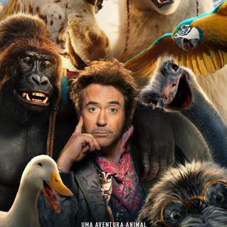 "Robert Downey Jr. faz teste de elenco para ""Dolittle"""