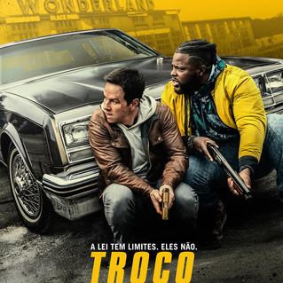 Mark Wahlberg e Winston Duke no trailer de Troco em Dobro