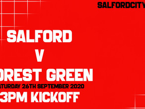 Salford City v Forest Green Rovers EFL League Two