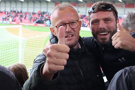 Salford City FC verses Leyton Orient 2021