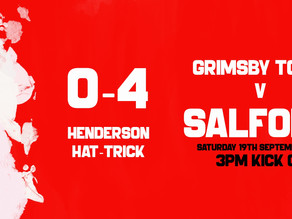 Grimsby Town 0-4 Salford City EFL League Two