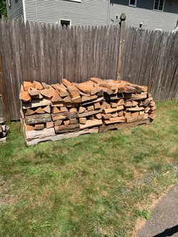 Firewood Stacking North Andover, MA