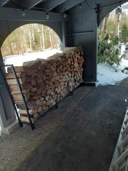 Firewood Stacking Boxford, MA