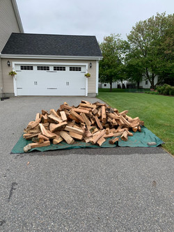 Firewood Delivery North Andover, MA
