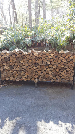 Firewood Stacking Andover MA