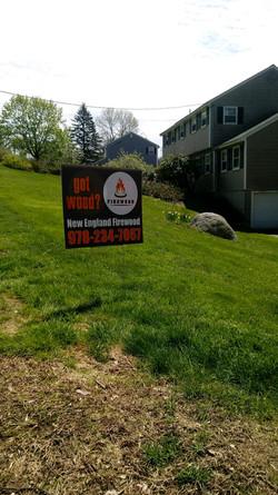 Lawn Sign North Andover