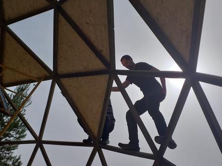 Materiales usados en la construcción de domos