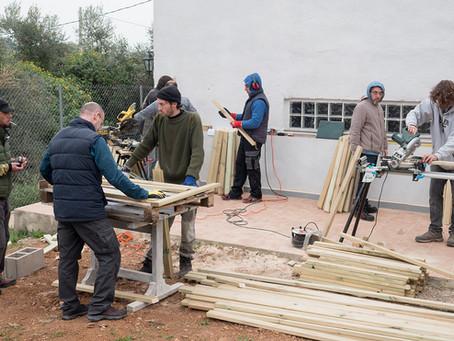 TALLER CONSTRUCCIÓN DOMO GEODÉSICO (MURCIA)