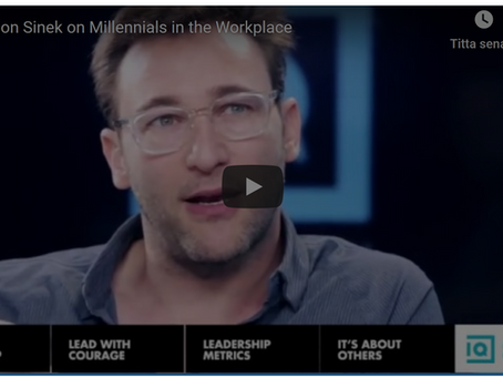 Tips från coachen:                                         Om milleniumgenerationen på arbetet