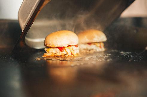 Meat Stack Logo. Real American Cheeseburgers, Best Burgers in Edinburgh, Best Burgers in Newcastle