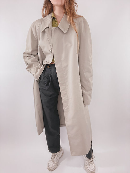 TRENCH GRIS CLAIR VINTAGE