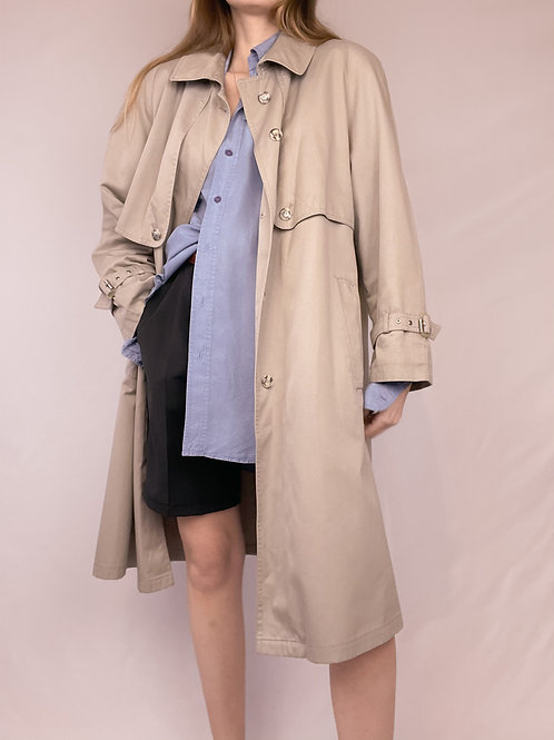 TRENCH GRIS VINTAGE