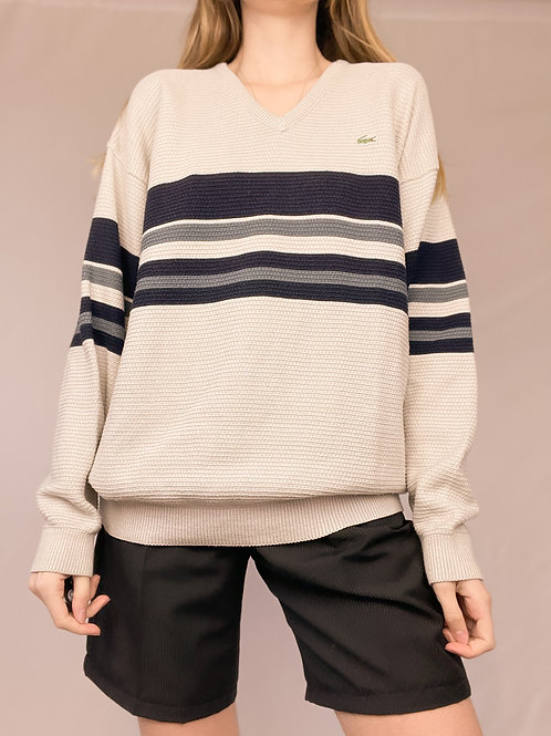 PULL LACOSTE COL V