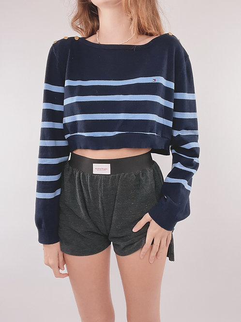 PULL UPCYCLÉ TOMMY HILFIGER RAYURES