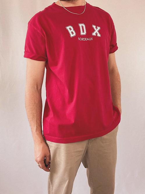 T-SHIRT BDX ROUGE