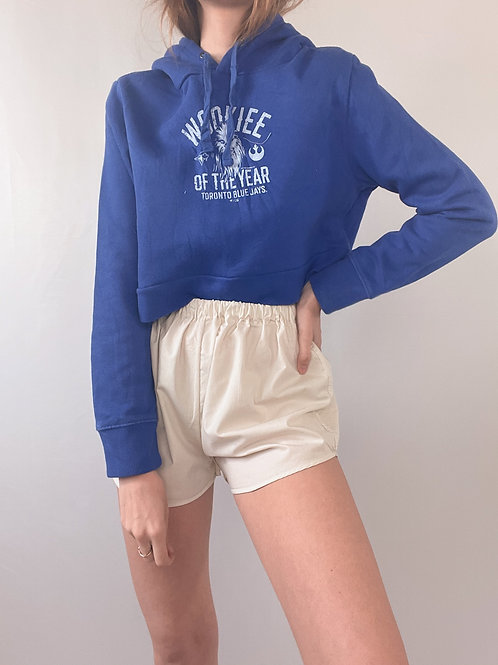 SWEAT UPCYCLÉ BLEU