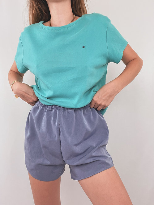 T-SHIRT TOMMY HILFIGER TURQUOISE