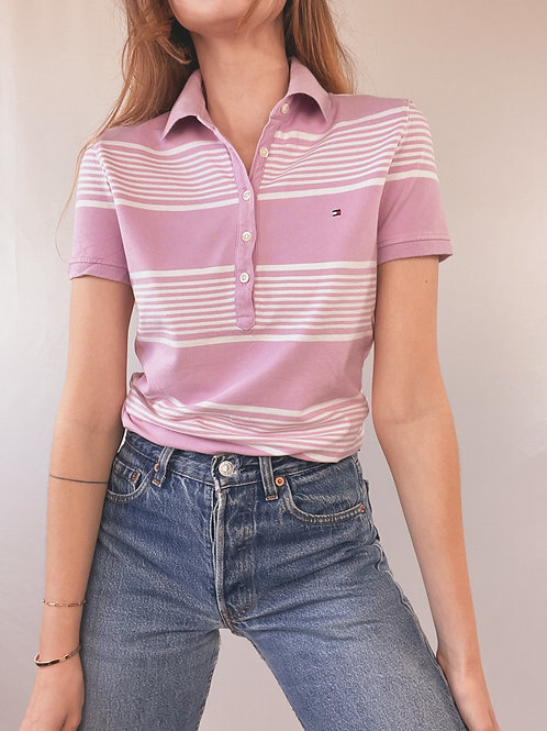 POLO TOMMY HILFIGER RAYURES