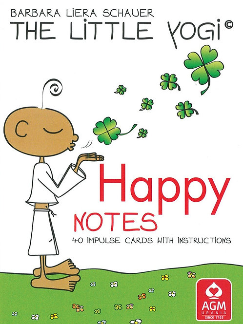 The Little Yogi© Happy Notes: 40 Impulse Cards With Instructions