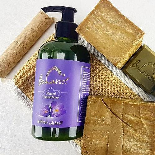 3 x 250 ML Baharhan Saffron Liquid Soap
