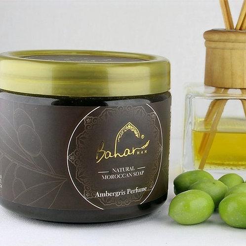 2 x 400 ML Baharhan Amber Moroccan Soap