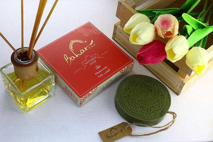 Baharhan Round Bar Soap_Tulip_6.jpg