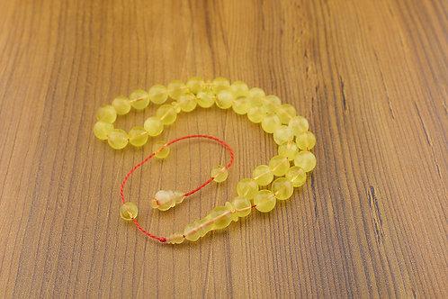 Amber Prayer Beads