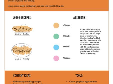 Project #001: Mini Branding Guide