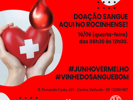 Doação de Sangue no Rocinhense