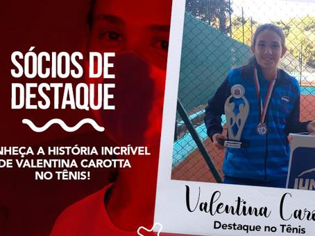 Conheça a Trajetória Incrível de Valentina Carotta no Tênis