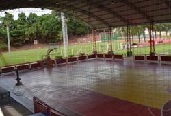 Quadra de Basquete e Futsal