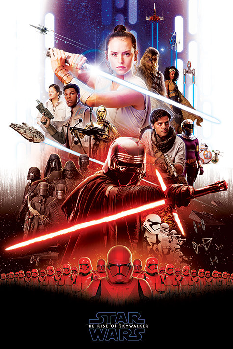 POSTER M PY PP 34538 STAR WARS EPIC