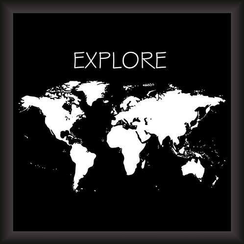 Quadro Decorativo - Explore