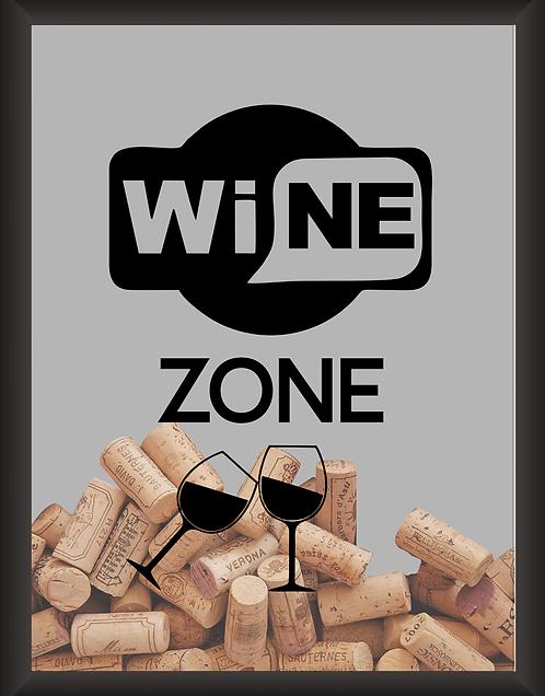 Quadro Rolha - Wine Zone