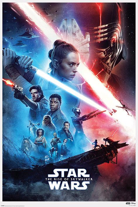 Pôster G - Star Wars | Ascensão Skywalker