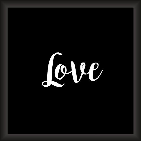 Quadro Decorativo - Love