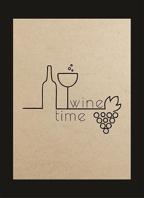 QUADRO VINHO WINE TIME F