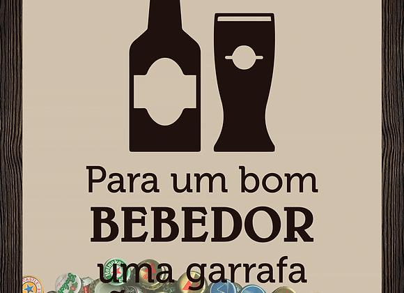 Quadro Cerveja - Bom Bebedor