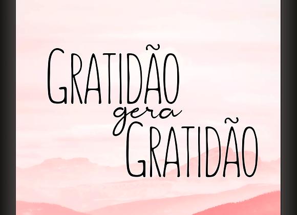 Quadro Gratidão Gera